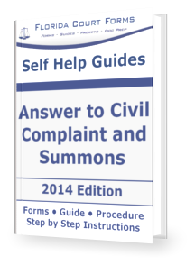 Answer to civil summons complaint in florida answer to civil complaint and summons the help you need to create an answer file in time altavistaventures Choice Image