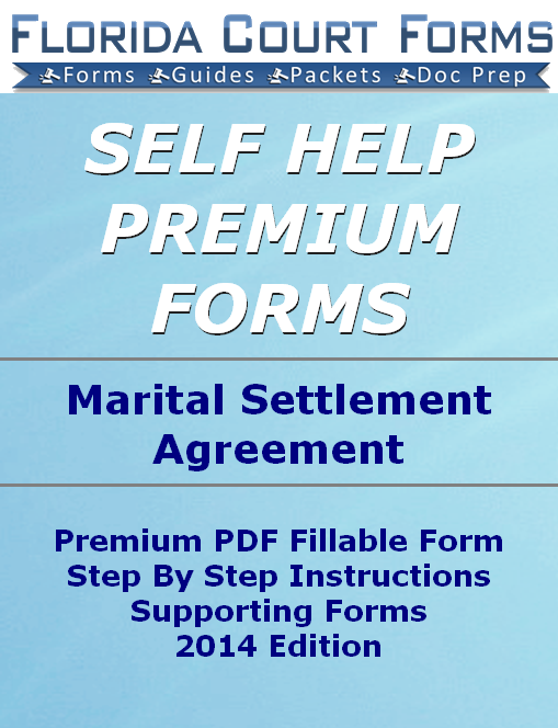 Marital Settlement Agreement with Children Premium Forms Packet