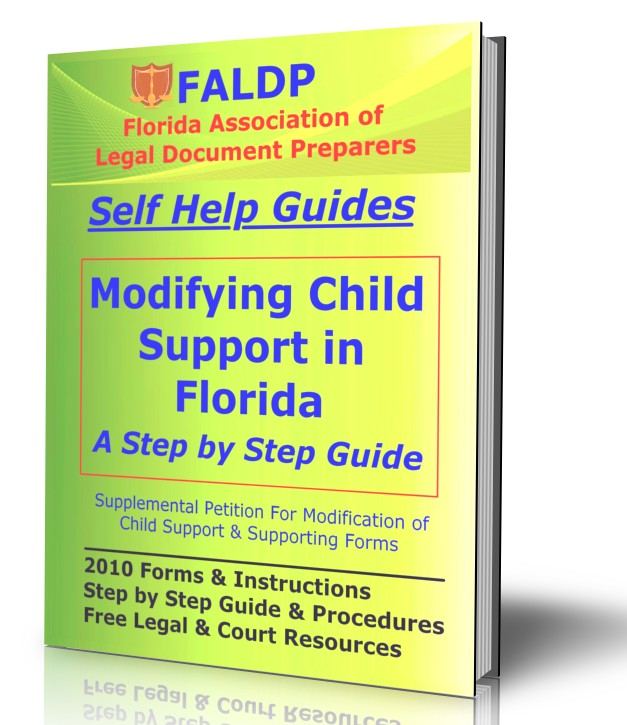 FALDP Modifying Child Support in Florida