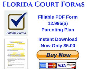 Instant Download PDF Fillable Form 12.995(a)
