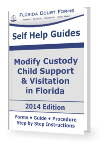 Florida Child Custody Forms - Time Sharing Forms
