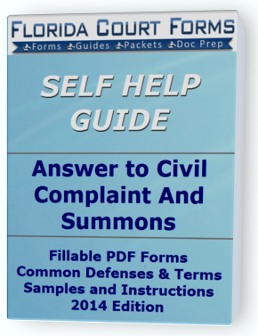 Answer Civil Complaint & Summons