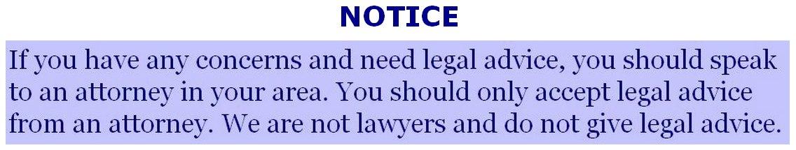 Legal Disclosure