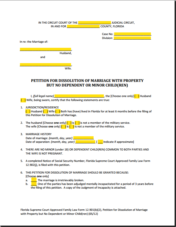 Interactive Fillable PDF form 12.901(b)(2)