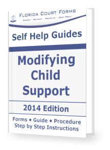 Florida Child Support Forms - List of Court Approved Forms